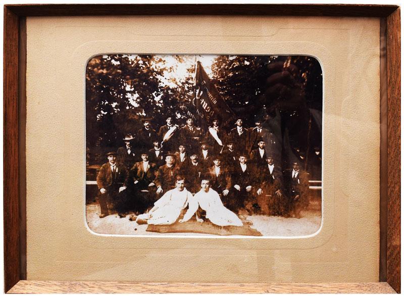 Historisches Foto des Turnvereins Pausa 1865