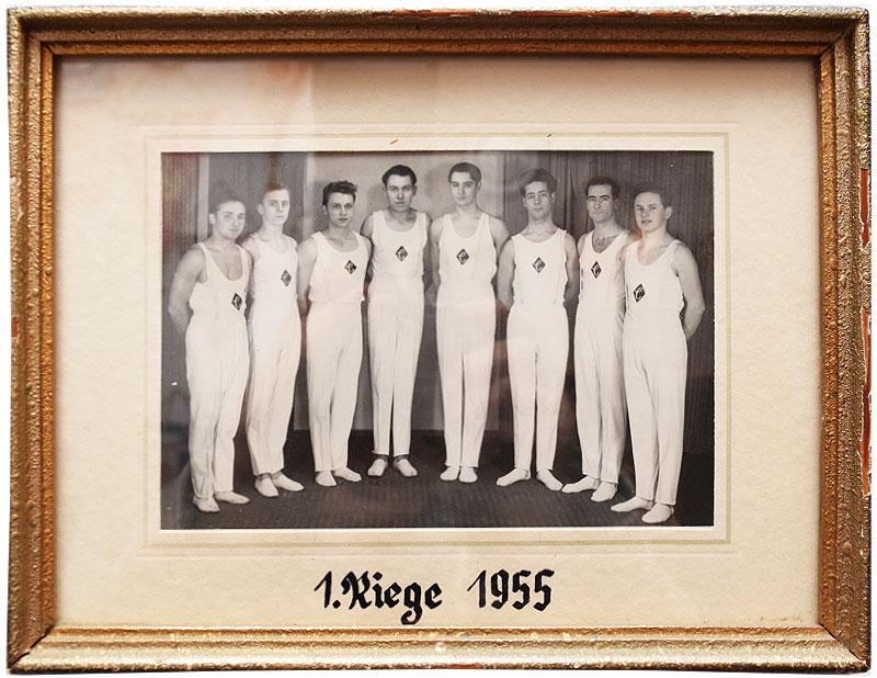 Erste Riege 1955
