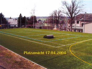 Unser Platz am 17.04.2004